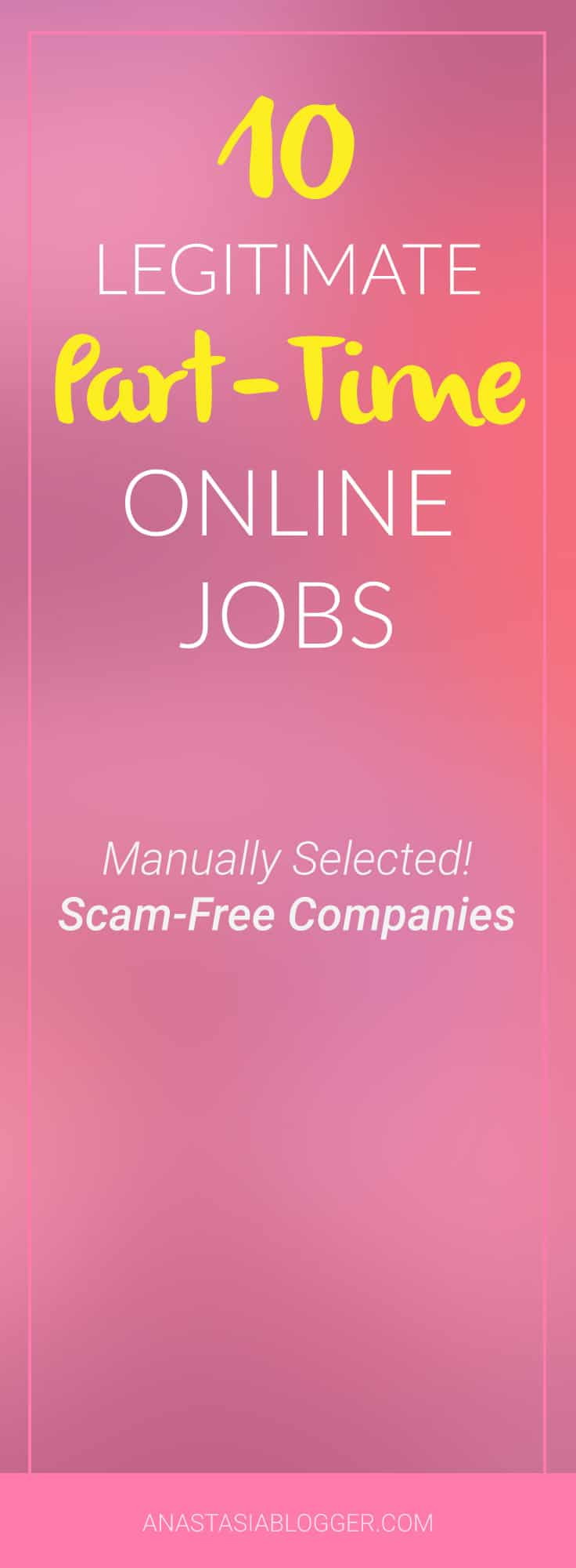 part time online jobs scam manually selected companies 10 ligitimate part time online jobs manually selected companies which offer online jobs for