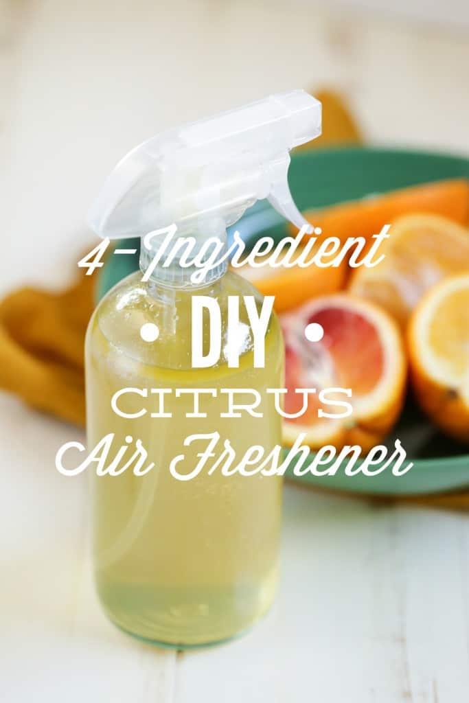 DIY Citrus Air Freshener - Cleaning Hacks
