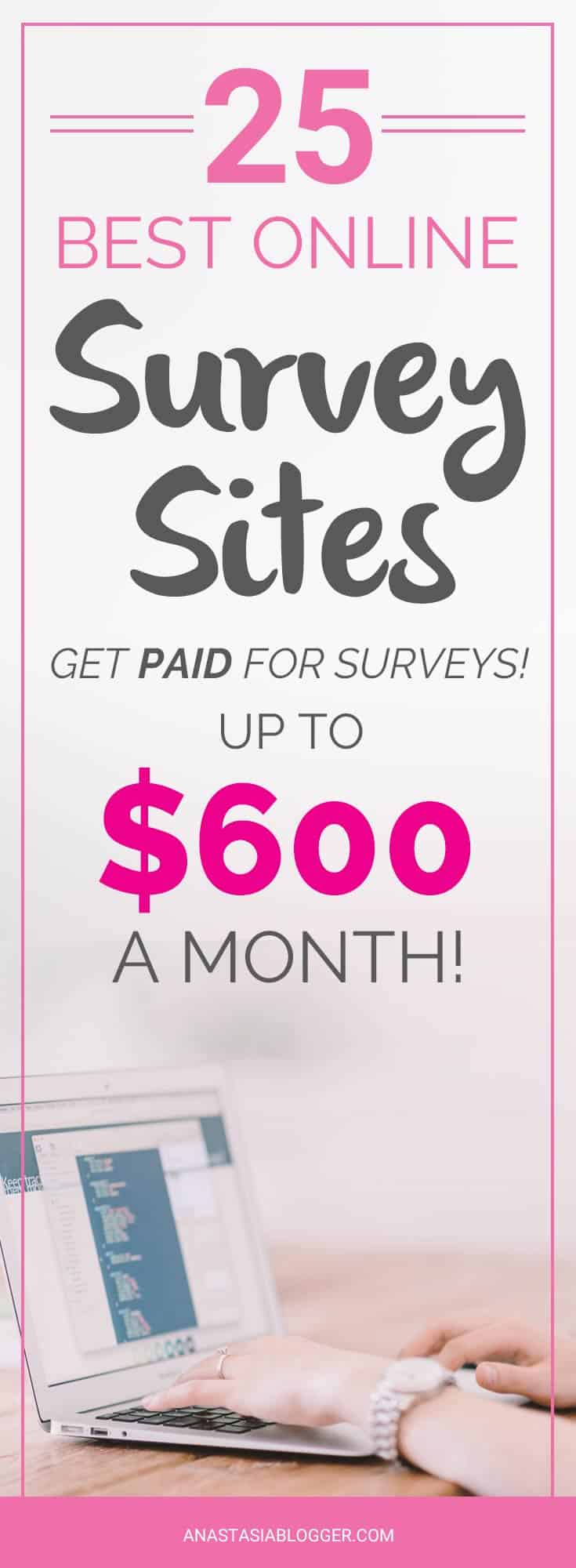 best sites to get paid for surveys paid surveys 25 best sites to sign up and get paid to 8121