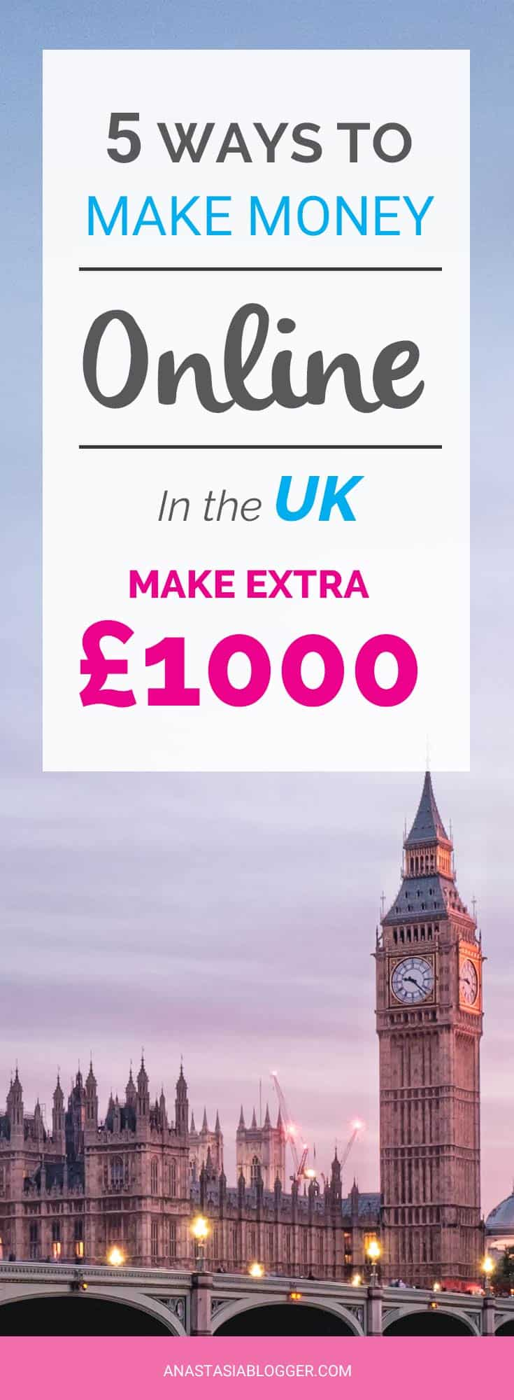 Looking for ways to make money UK extra cash? Make money in the UK work at home. Make money online UK tips - best surey sites, micro-tasks, product testing, etc.
