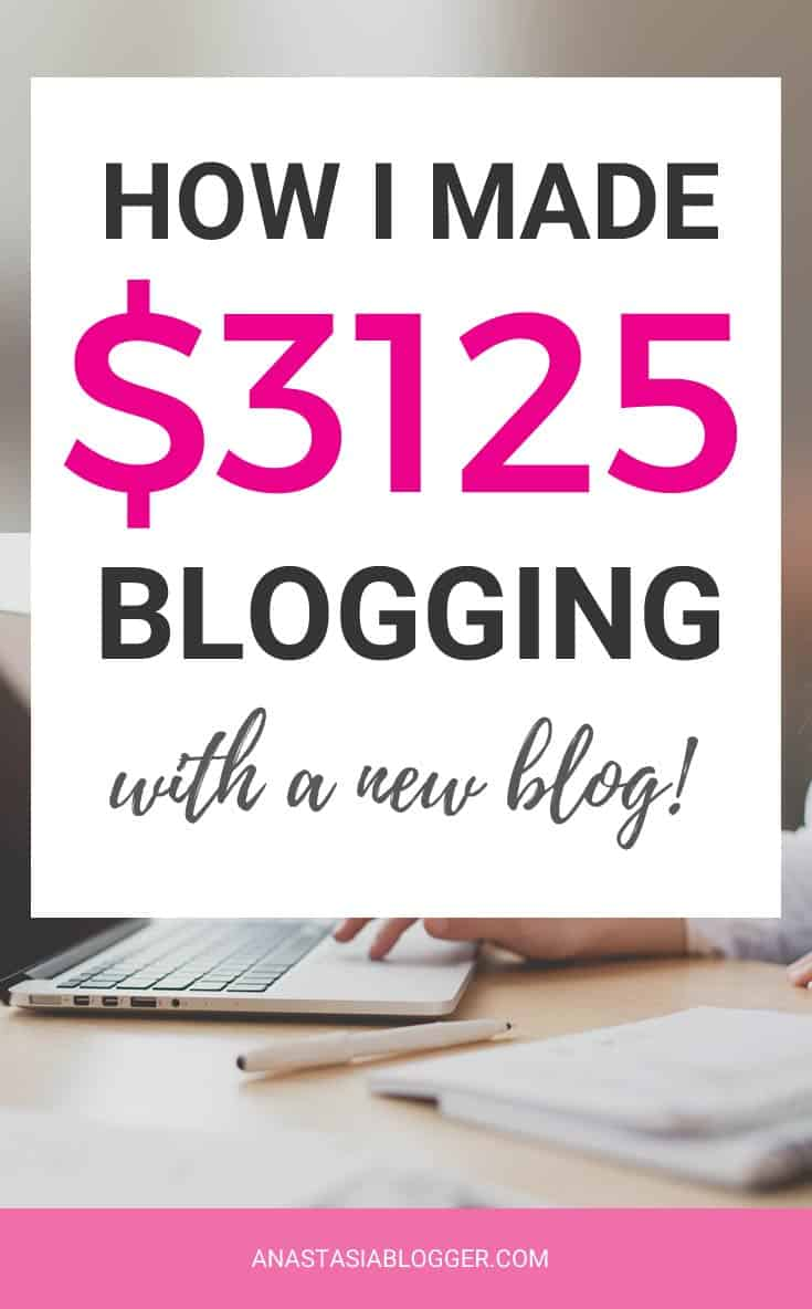 Blog Income reports - my blog traffic and income for the first 6 months blogging.