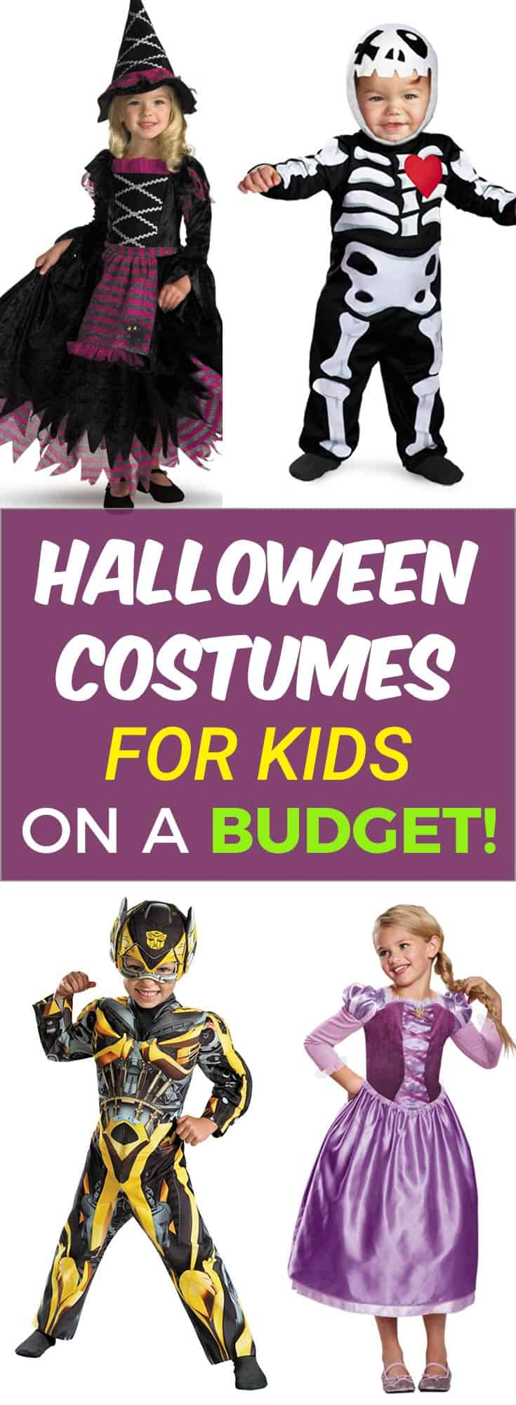 "Halloween Costumes for Kids on a Budget! With my #affiliate link you get an EXCLUSIVE OFFER! 25% off! Use code ""spooky25cj17""!"