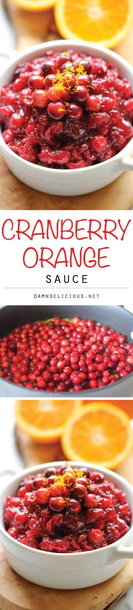 Cranberry-Orange-Sauce-Recipe. 25 Best Thanksgiving recipes for dinner party! Are you hosting Thanksgiving this year? Get your cooking inspiration in Thanksgiving food, side dishes, find some stuffing recipes for Thanksgiving.