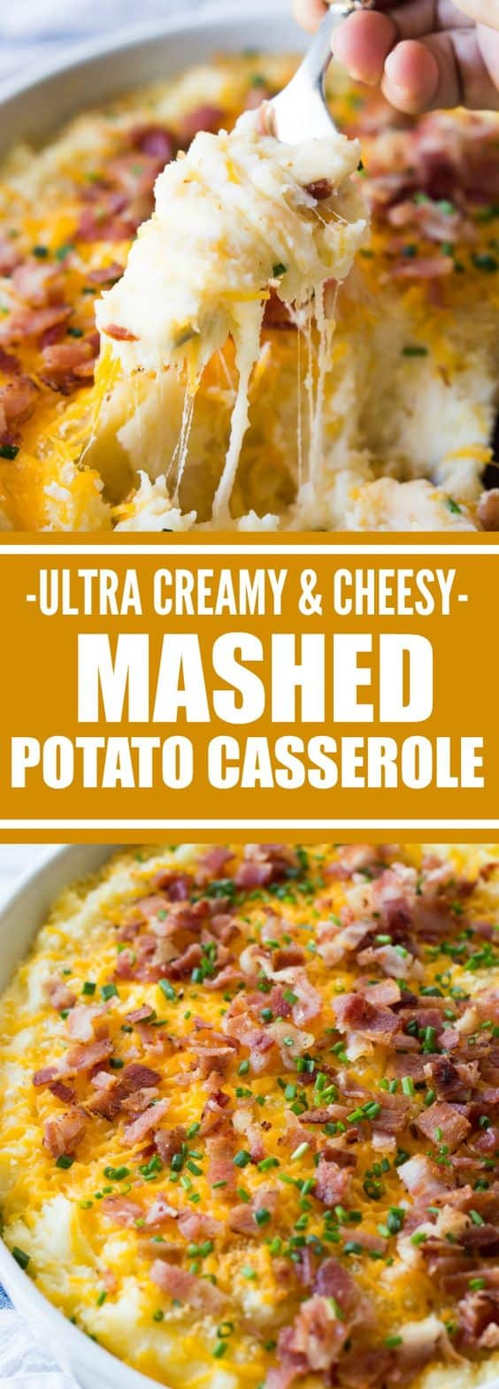 Mashed Potato Casserole. 25 Best Thanksgiving recipes for dinner party! Are you hosting Thanksgiving this year? Get your cooking inspiration in Thanksgiving food, side dishes, find some stuffing recipes for Thanksgiving.