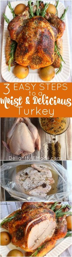 3 Easy Steps to a Moist and Delicious Turkey. 25 Best Thanksgiving recipes for dinner party! Are you hosting Thanksgiving this year? Get your cooking inspiration in Thanksgiving food, side dishes, find some stuffing recipes for Thanksgiving.