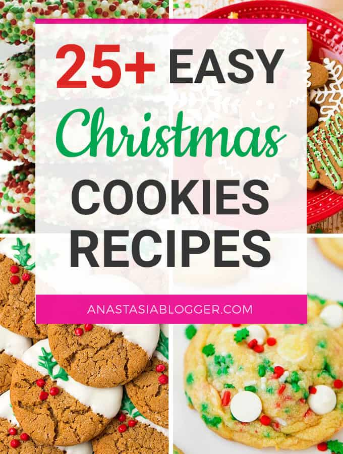 25 Easy Christmas Cookies Recipes To Try This Year