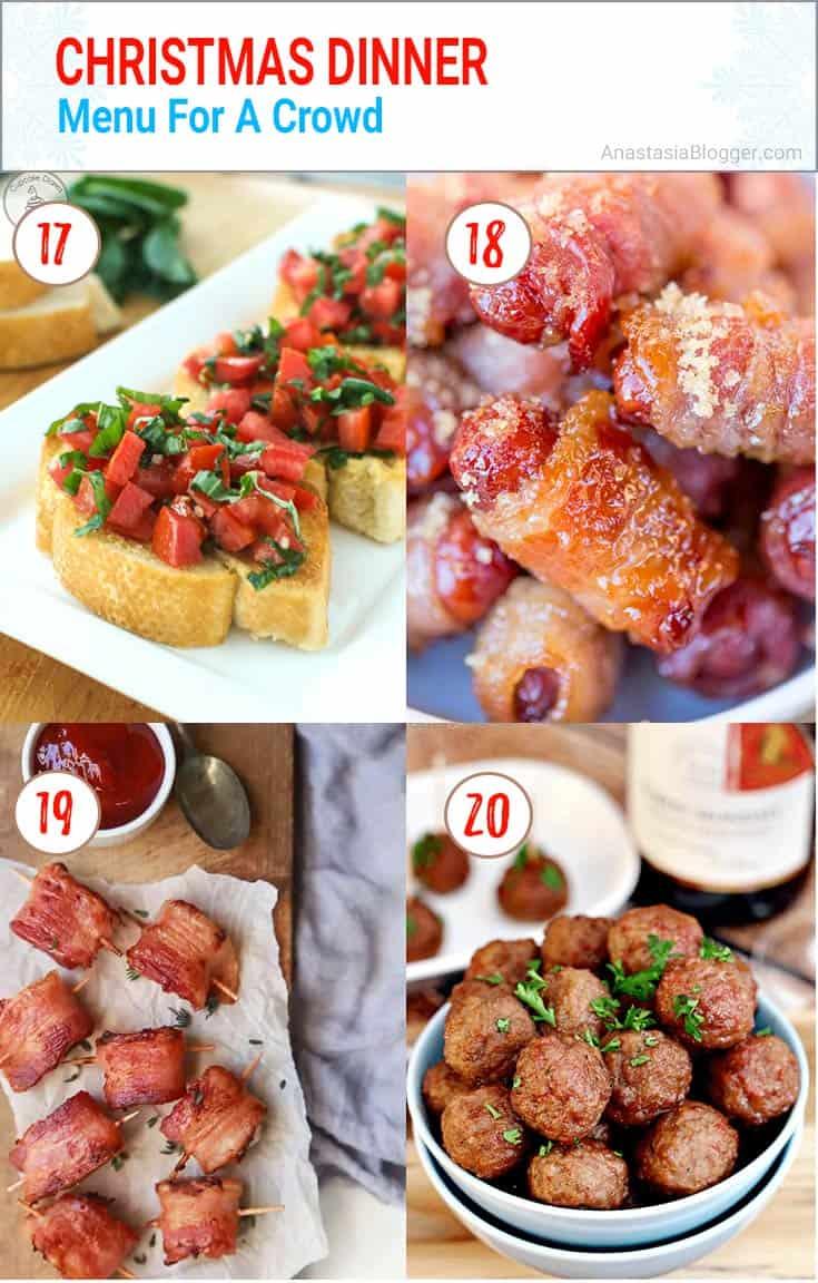 Best 25+ Christmas Dinner Ideas