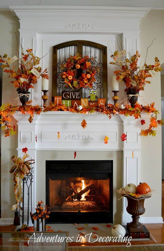 25 diy thanksgiving decorations for home to try this year for Thanksgiving home decorations