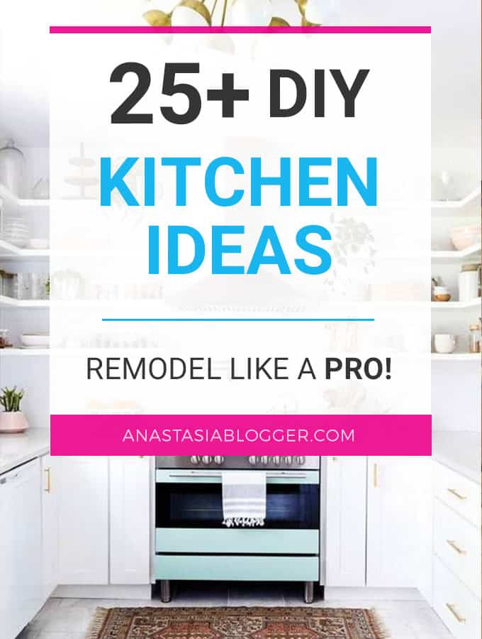 Look at these DIY Remodeling Kitchen Ideas on a Budget – they will teach you how to make a small kitchen look bigger! You can find here what are the different styles of kitchens and what are the different types of kitchen layout – get some kitchen design and decor ideas, furniture makeovers.