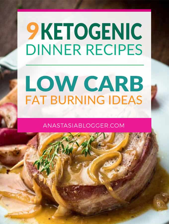 Try these 9 Easy Keto Recipes for a Healthy Dinner for your Ketogenic diet. Improve your keto mealplan with these easy low-carb Keto ideas that will help you burn fat and lose weight faster! Ketogenic fat bombs will help in your winter diet when you need a lot of energy and want to cut carbs