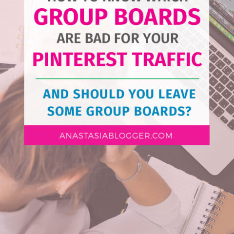 How to Know Which Group Boards Are Bad for your Pinterest Traffic. You have to get into many Pinterest Group Boards to get traffic from Pinterest - every blogger knows it. But are all the group boards good for your Pinterest account and traffic? And should you leave some of the group boards to save yourself from trouble on Pinterest?