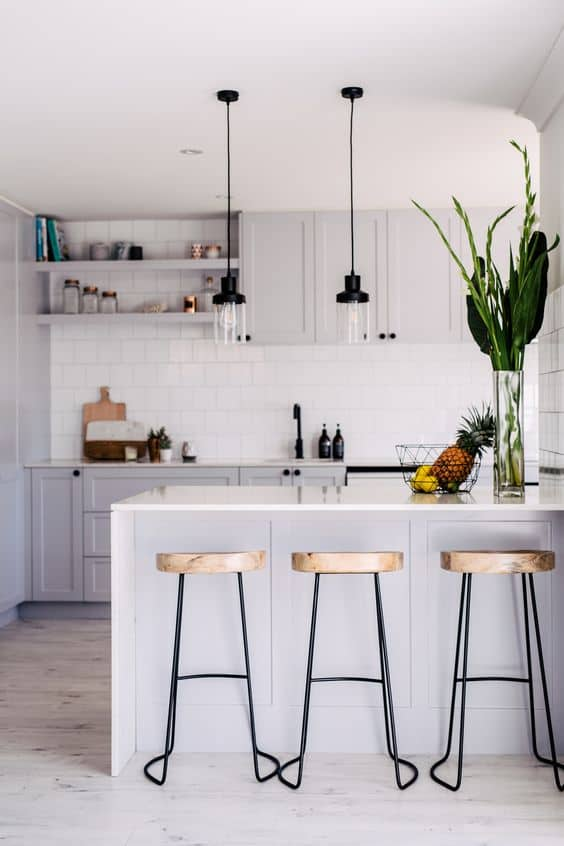 What are the different types of kitchen layout? One-Wall Kitchens. Look at these DIY Remodeling Kitchen Ideas on a Budget – they will teach you how to make a small kitchen look bigger! You can find here what are the different styles of kitchens and what are the different types of kitchen layout – get some kitchen design and decor ideas, furniture makeovers.