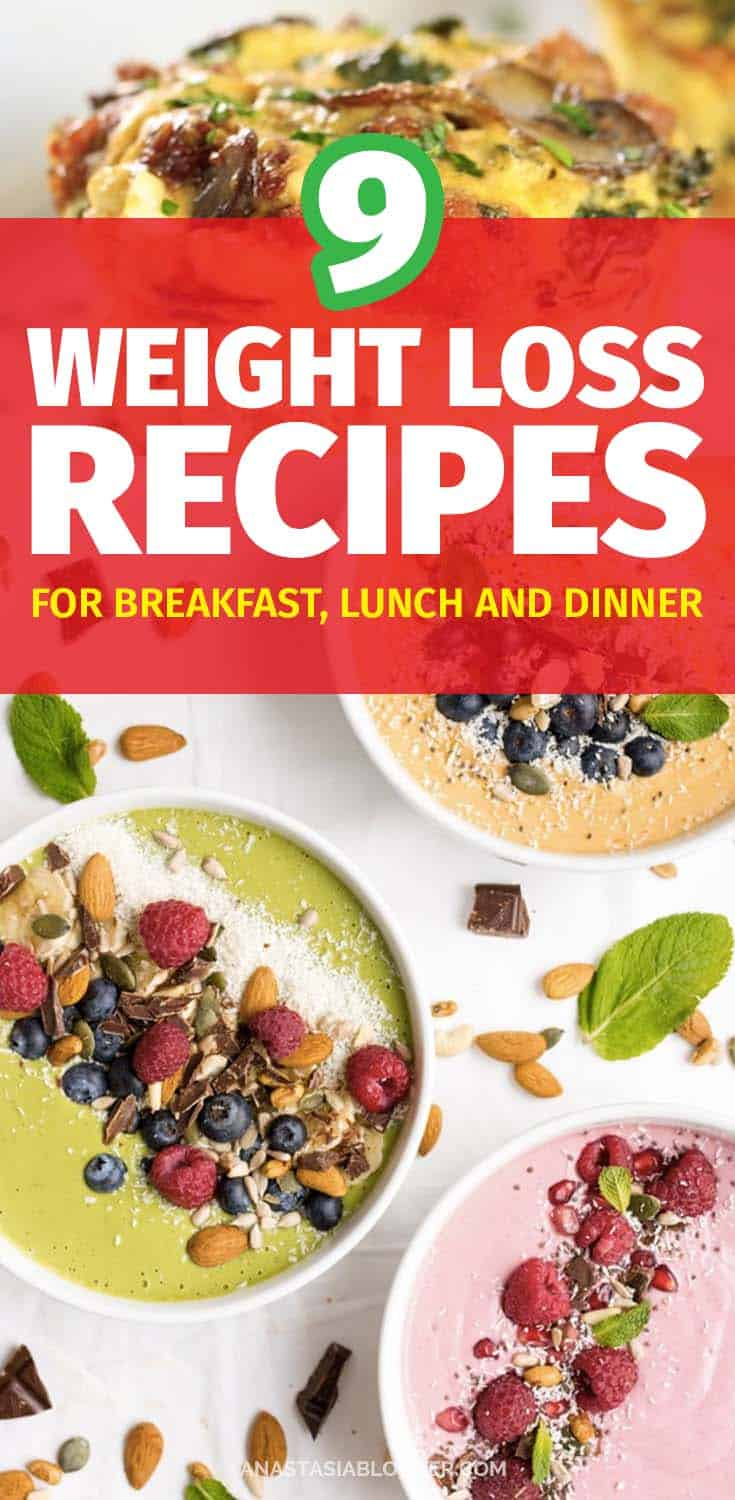Weight Loss Recipes for Breakfast Lunch and Dinner - Easy Clean Eating on a Budget. Best Weight Loss Recipes - Easy Clean Eating Weight Loss Recipes. Looking for easy weight loss recipes to add some amazing tastes to your regular diet? Here is a great collection of healthy clean eating recipes you can try with your family!#weightwatchers #weightlossrecipes#recipes #food #cleaneating