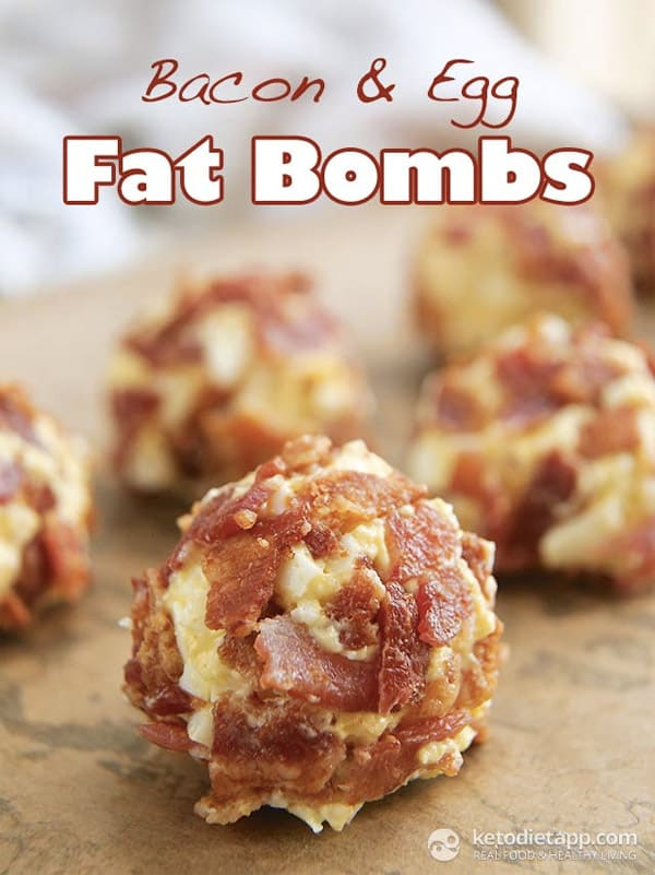 Bacon Egg Fat Bombs - Here are hand-picked simple 12 DIY Keto Snacks On the Go for keeping you Ketogenic diet all the day and even while traveling. These low carb savoury fat bombs and treats will fill you up and help you lose weight. Take these home-made Keto snacks to work or a trip – they are easy to keep and heat up. #keto #ketogenic #ketorecipes #ketogenicdiet #ketodiet