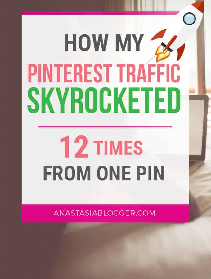 How Pinterest Traffic to My Blog Tripled in 2 weeks. Here is my Pinterest strategy which helped me to grow my blog traffic and income. Learn how to create viral pins and drive tons of Pinterest traffic even with a small following, as a new blogger.