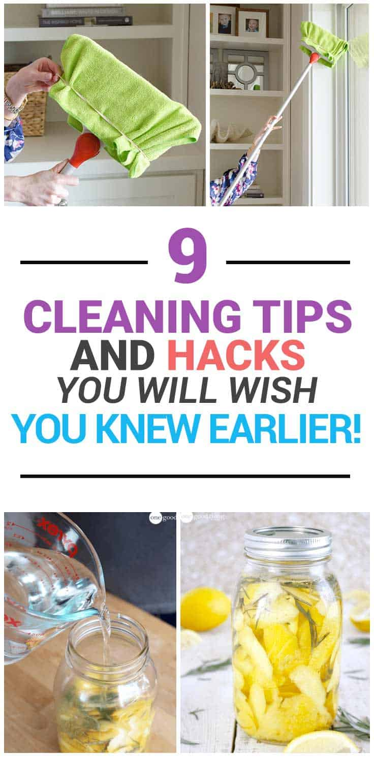 These unbelievable cleaning tips and hacks will save you tons of time and nerves if cleaning is not your favorite activity (for most of us it's not!). Check more cleaning tricks >>