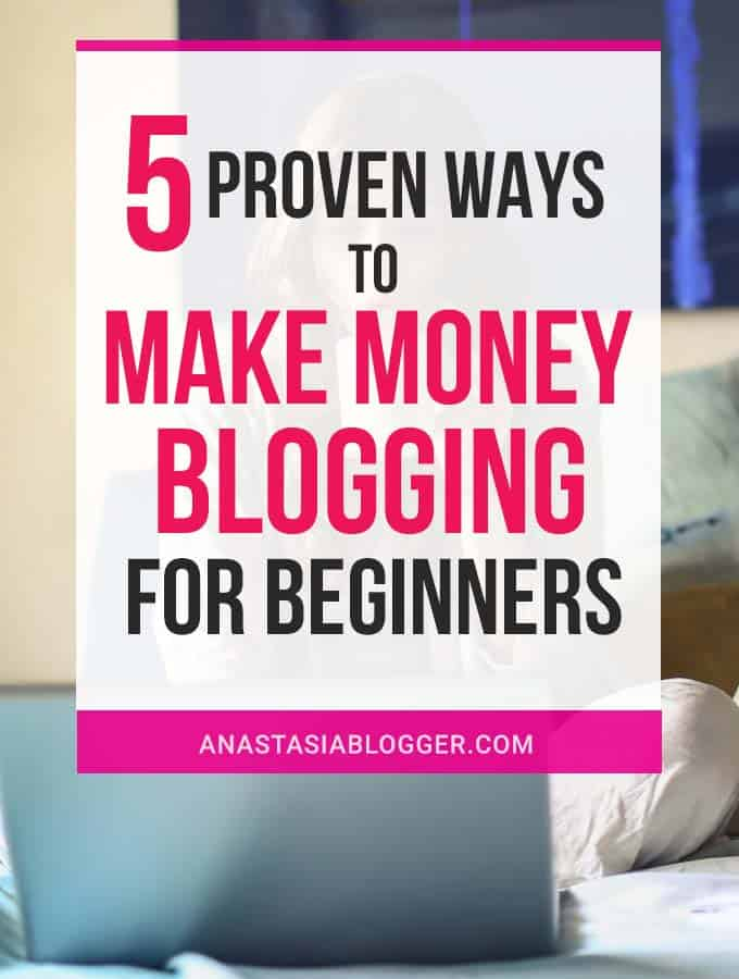 Wondering, how to make money blogging? Lean the best Ways to make money blogging for beginners. Can you make money blogging fast or it takes years? Make money with a blog tips for everyone!