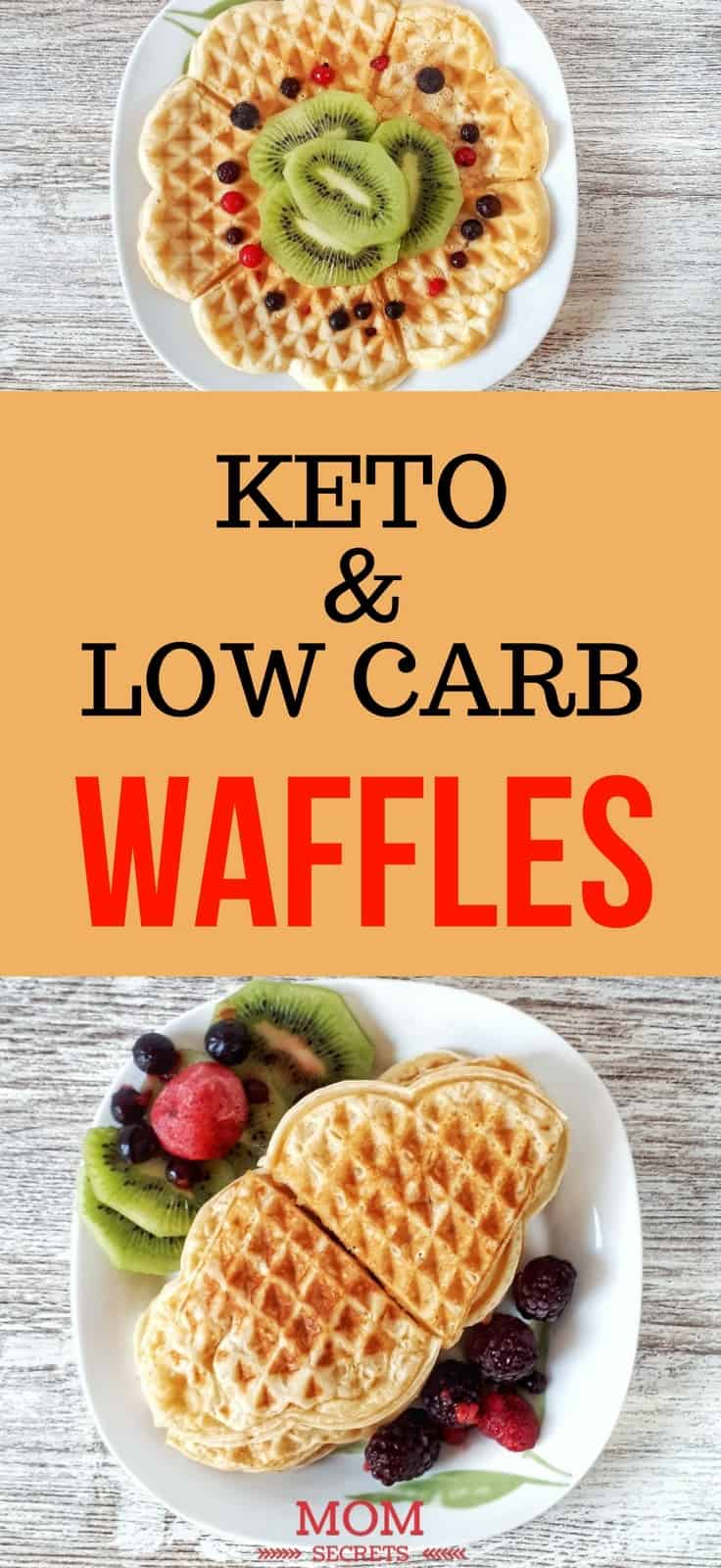 Keto Waffles - Easy Keto Breakfast to start burning fat. Keto Breakfast on the go, Keto breakfast make ahead recipes. Eggs cooked in creative ways are the basis of your breakfast on a Ketogenic diet. But it's not eggs only! You can have a no eggs Keto breakfast with muffins, Keto breakfast pancakes or Keto breakfast smoothie. #keto #ketogenic #ketodiet #breakfast #ketorecipes