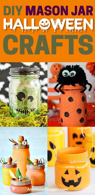 17 Creative DIY Mason Jar Halloween Crafts to Upgrade Your Decor This Fall