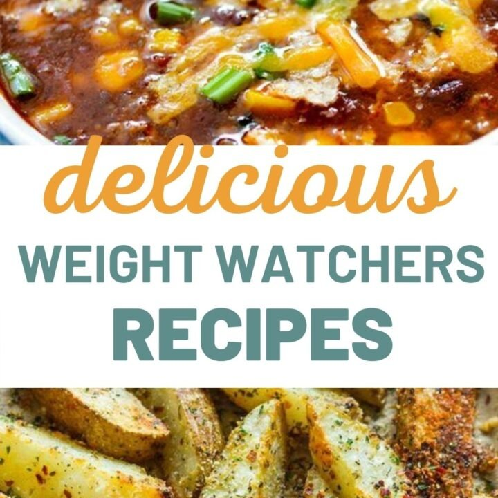 50 Weight Watchers Recipes with Smartpoints