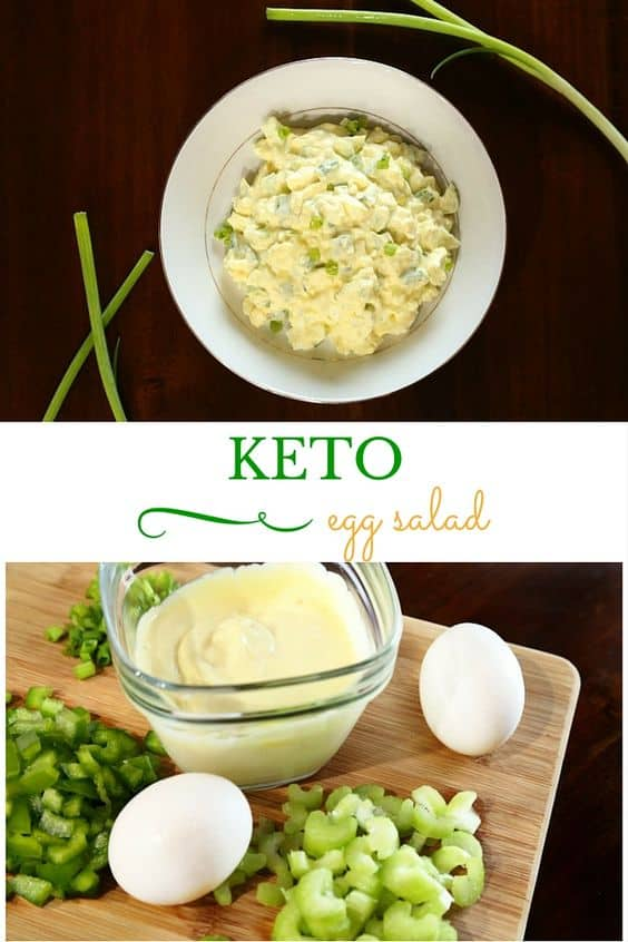 Best Keto Egg Salad Recipes - Easy Low Carb Salad for Keto Diet. Keto egg salad, which is easy, quick, delicious and low carb at the same time. I've got a collection of simple and fast recipes for your Keto diet which you don't want to miss. #keto #lowcarb #salad #recipes #food #diet #weightwatchers #ketorecipes #ketodiet