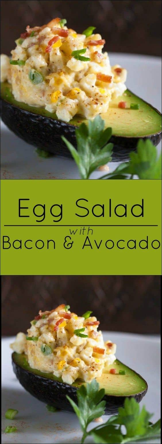 Best Keto Egg Salad Recipes - Easy Low Carb Salad for Keto Diet. There is nothing more easy, delicious and low carb at the same time as Keto egg salad. I've got a collection of simple and fast recipes for your Keto diet. #keto #lowcarb #salad #recipes #food #diet #weightwatchers #ketorecipes #ketodiet