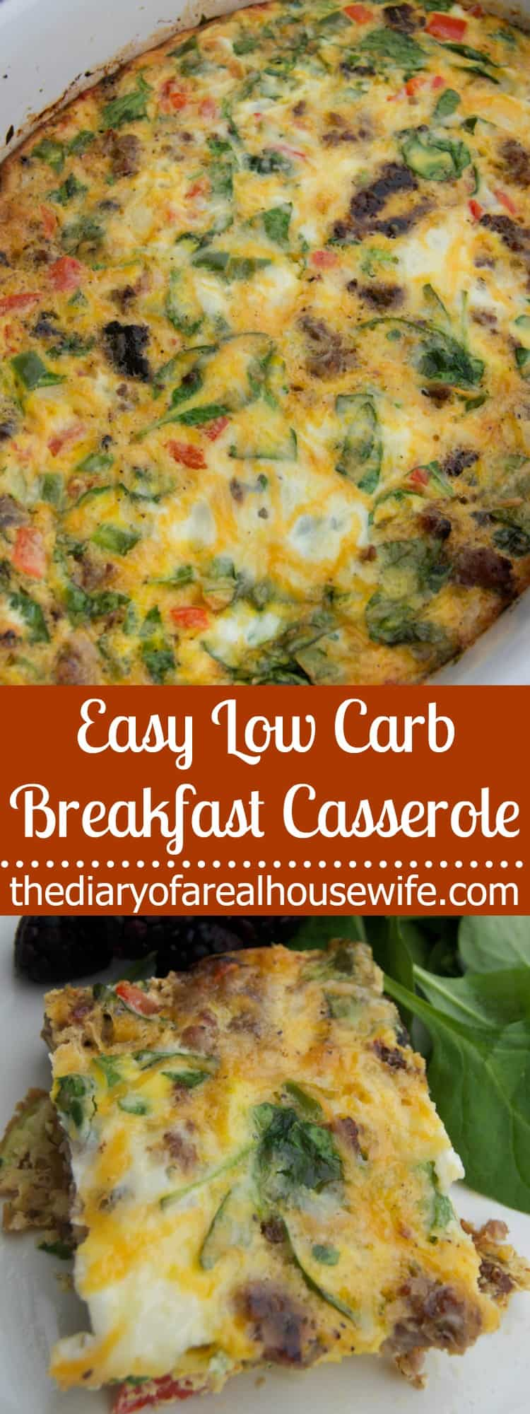Easy Low Carb Breakfast Casserole - Best Keto Breakfast Casserole Recipes for Ketogenic Diet. Try these amazing Keto breakfast casserole recipes with bacon, cream cheese, spinach or with ham. Great low carb make ahead breakfast, also some slow cooker recipes. #keto #ketogenic #ketorecipes #diet #food #lowcarb