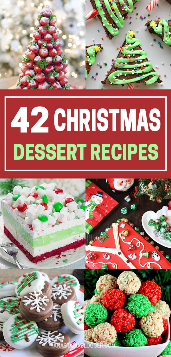 Best Christmas Desserts - Recipes and Christmas Treats to Try this Year! Try these amazing and cute easy Christmas dessert recipes to have a great party for your kids, friends, and family! Cupcakes, cakes, sweet bites, pies, brownies, home-made Christmas popcorn, Christmas cookies and other delights. #christmas #dessertfoodrecipes #xmas #recipes #food #christmasfood