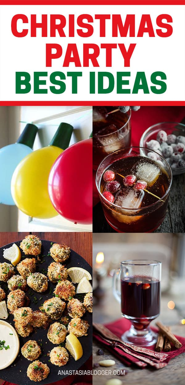 Hosting a Christmas Party this year? Get the best Xmas party ideas, including food ideas, games and decorations for your home is just for you! #christmas #xmas #christmasdecor #xmastreedecorations #party #partyideas #partyfood #food #ideas #decor #diy