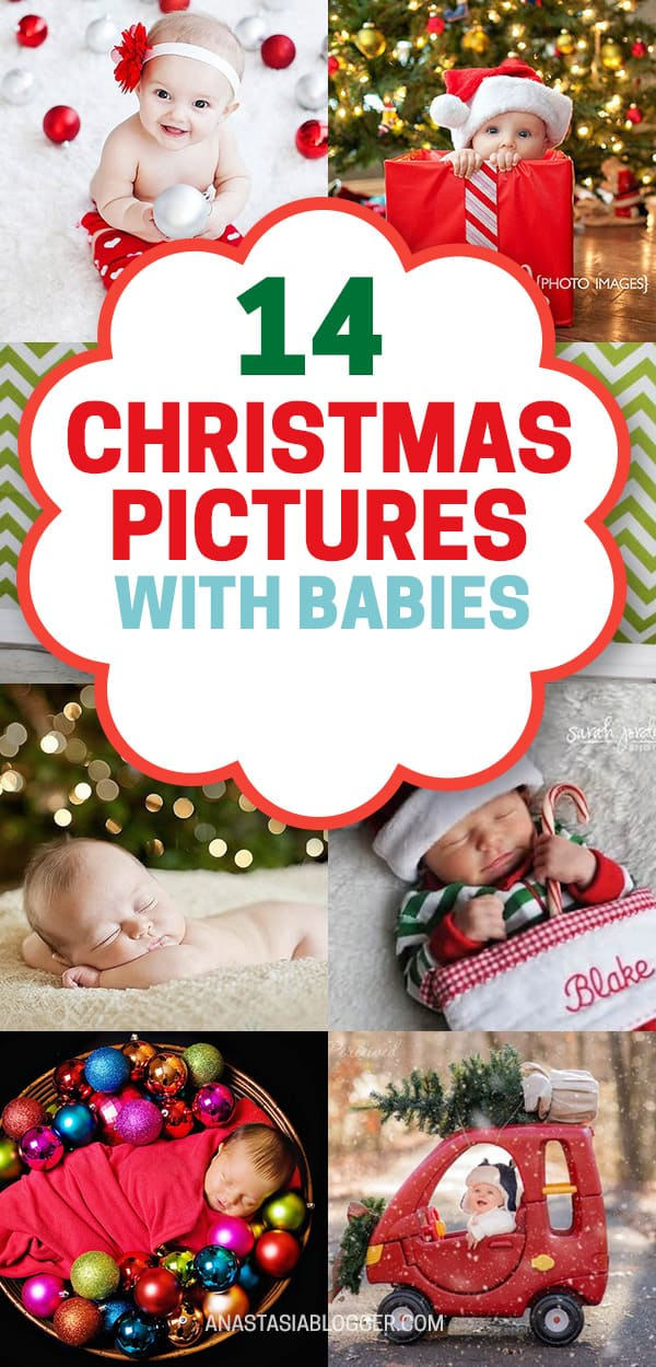 Christmas Pictures For Babies 14 Ideas For Diy Baby S First Christmas Photoshoot