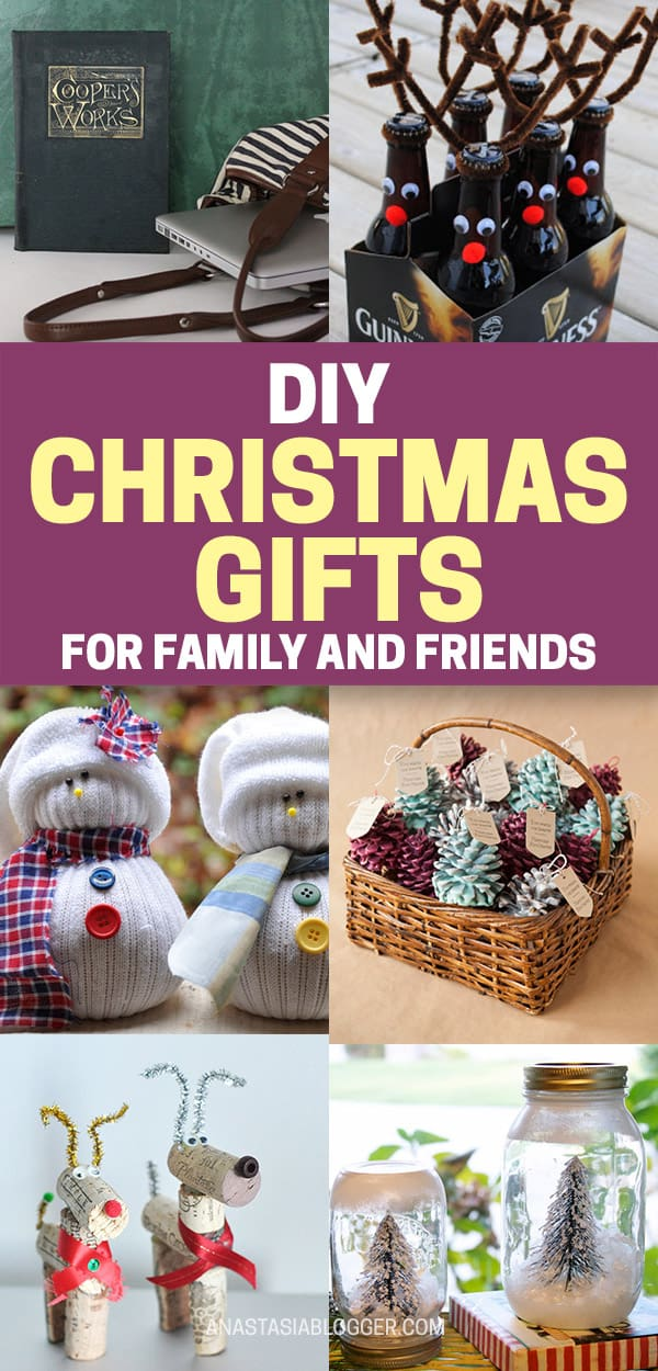 DIY Christmas Gifts for Family and Friends - Great Xmas Ideas for Inspiration. Here is a collection of the best DIY Christmas gifts for kids, for mom and dad, for everyone in your family and for all your friends! #christmas #christmasgifts #christmascrafts #diy #gifts #crafts #xmas