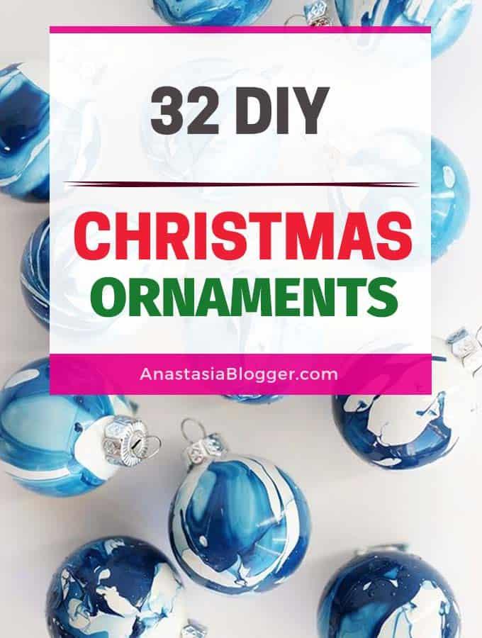Elegant Handmade Christmas Ornaments.Diy Christmas Ornaments Ideas 32 Easy Elegant Ornaments