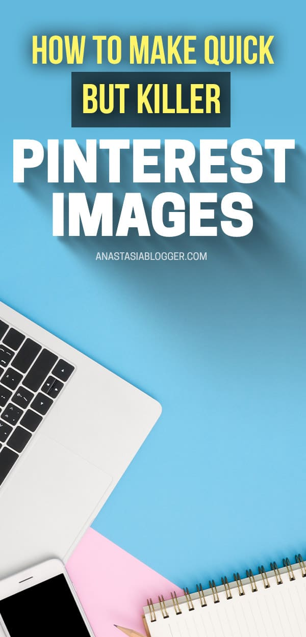 Learn how to make Pinterest images fast and easy on your smartphone using WordSwag app - create viral pins without Phoshop or Canva!