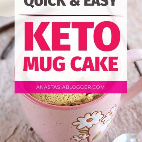 Keto Cake in a Mug – Recipes of Healthy Low Carb Mug Cakes