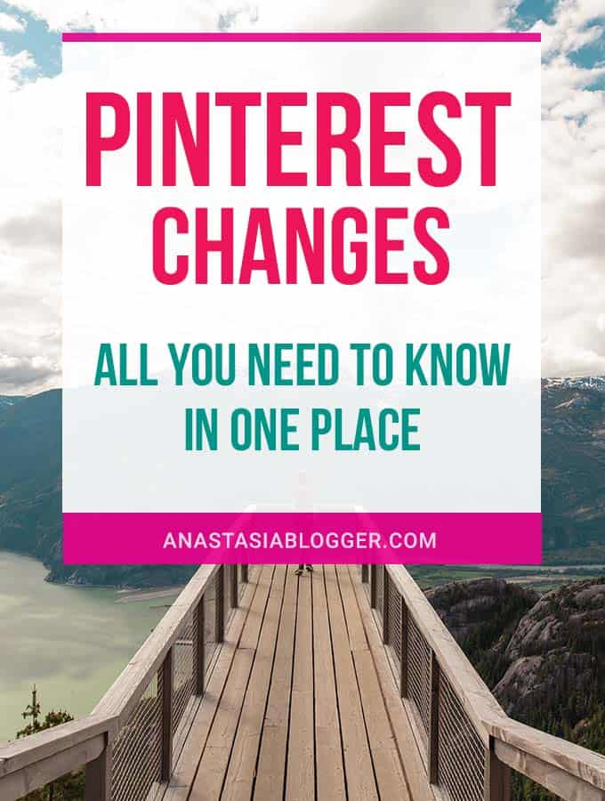 Pinterest Changes 2020: New Interface and Algorithm Updates by Year
