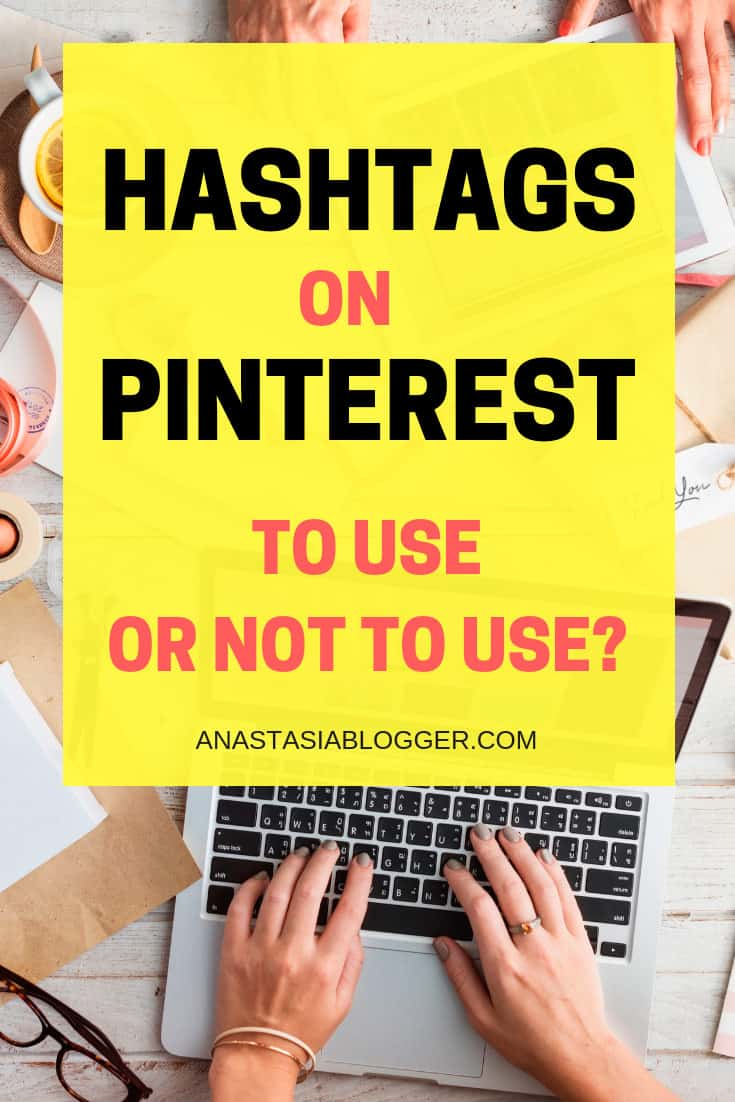 Hashtags on Pinterest. Pinterest Marketing tips. Social media marketing