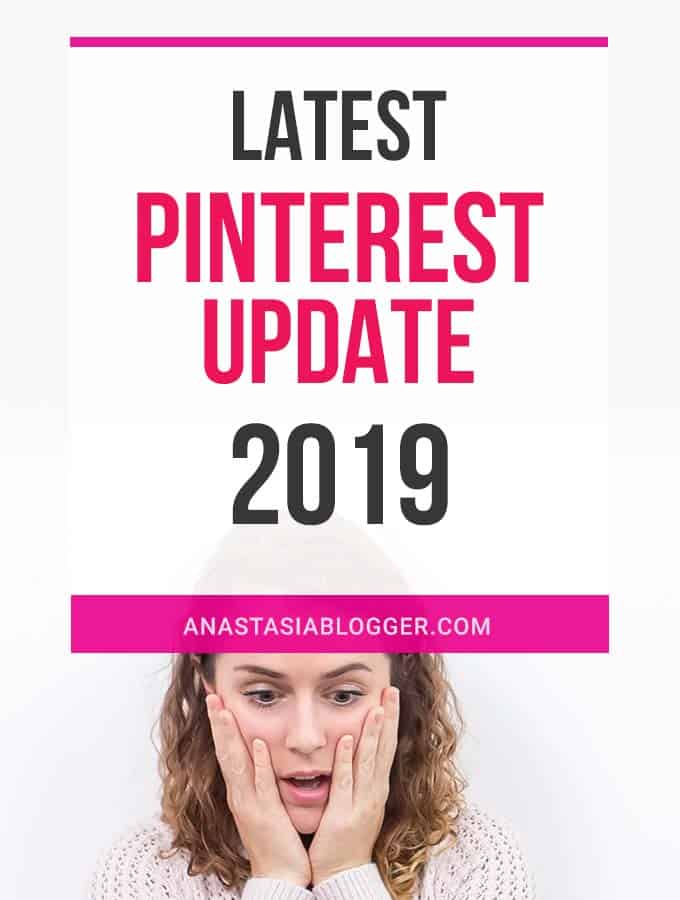 Pinterest Update August 2019 (Latest Pinterest Changes for