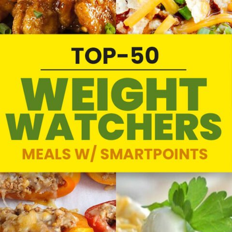 50 Weight Watchers Meals with Points - Simple Dinner Recipes with Smartpoints
