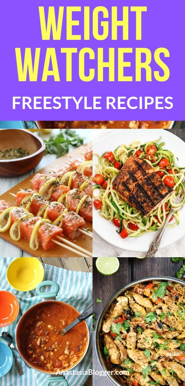 Looking for some great Weight Watchers Freestyle recipes with Points to try today? Check this collection of easy and delicious WW recipes for your family!