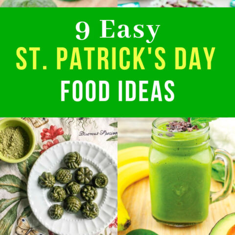 Easy St. Patrick's Day Food Ideas and Healthy Appetizers for Party
