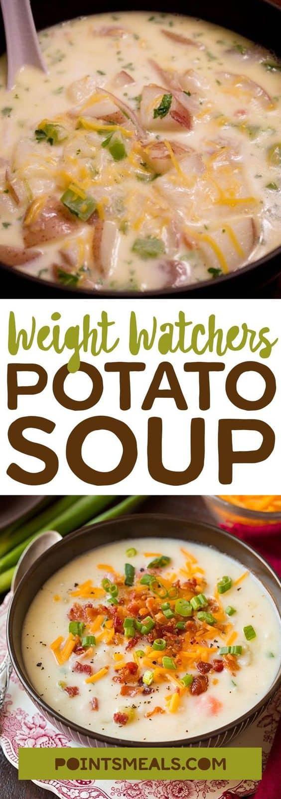 Potato Soup – Smartpoints 3
