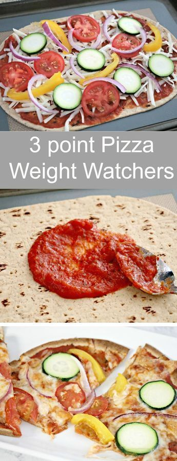 3 Point Weight Watchers Flatout Flatbread Pizza!