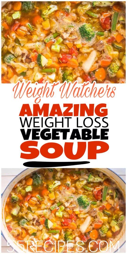Amazing Weight Loss Vegetable Soup