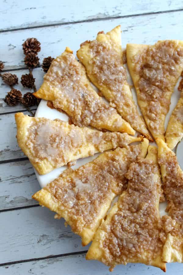 Weight Watchers Cinnamon-Sugar Pizza