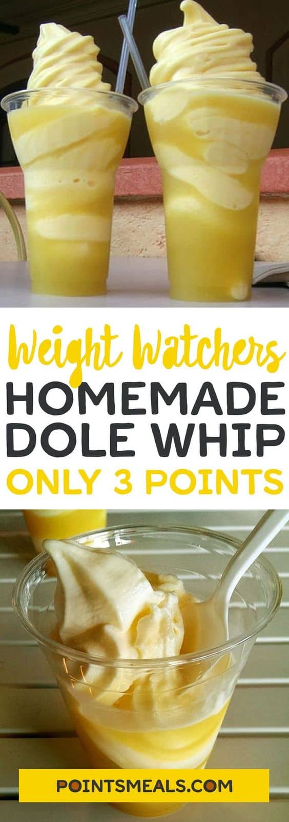 Dole Whip Weight Watchers | 3 Freestyle SmartPoints