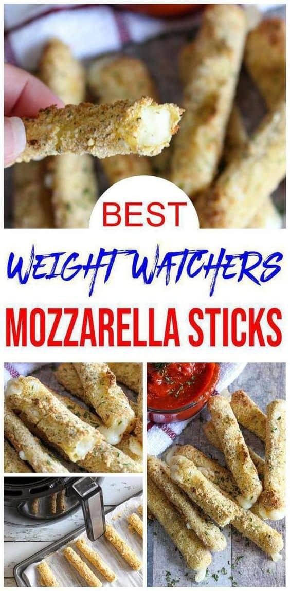 Weight Watchers Air Fryer Mozzarella Sticks