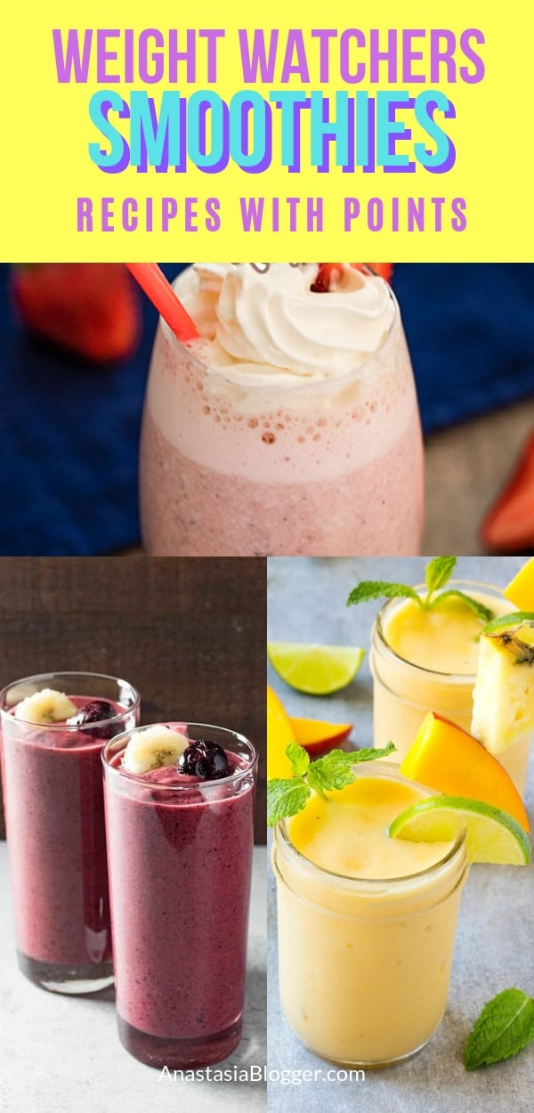 Best Weight Watchers Smoothies Smartpoints
