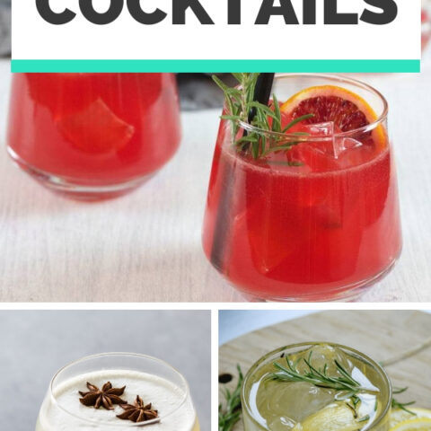 9 Cocktail Recipes with Gin for Summer - Simple Alcoholic Beverages