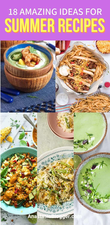 Healthy Summer Dinner Ideas for Hot Days - Easy Summer Recipes
