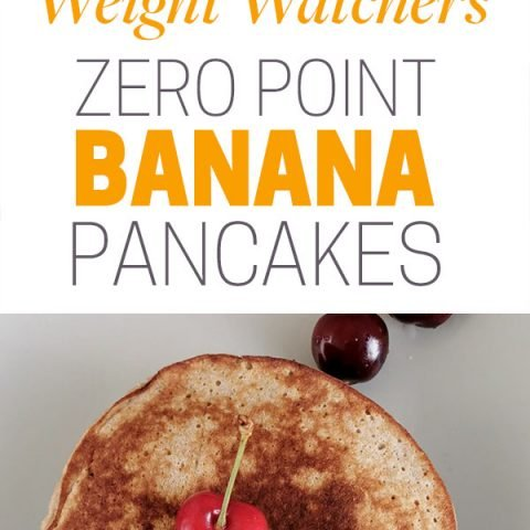 Zero Point Flourless Weight Watchers Banana Pancakes | 0 SmartPoints Each!